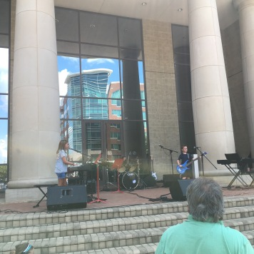 This kid band was great