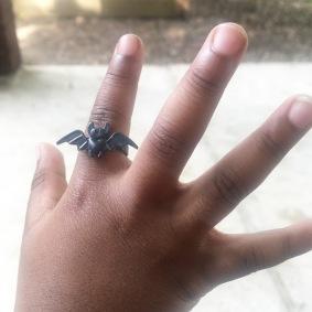 Tiny bat ring