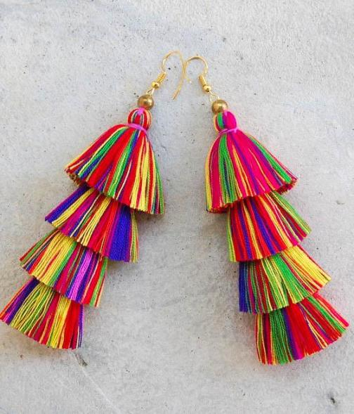 multi earrings