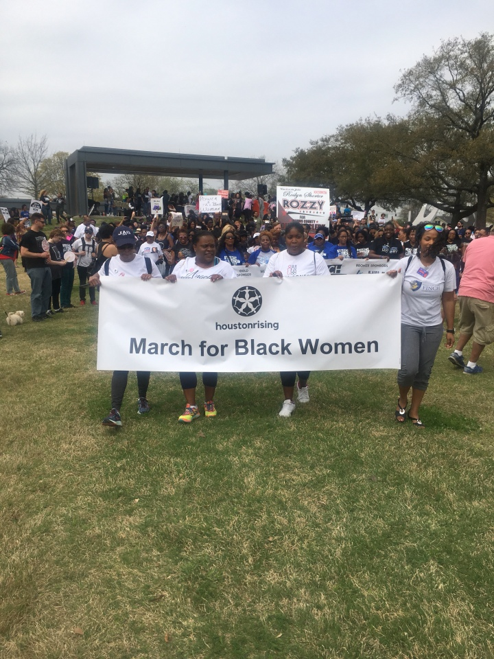 The 1st March for Black Women in Houston